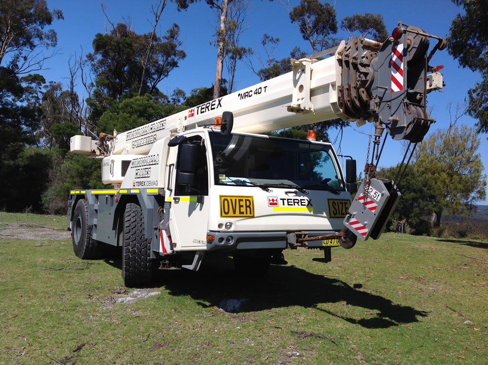 All Terrain Crane Hire Eurobodalla