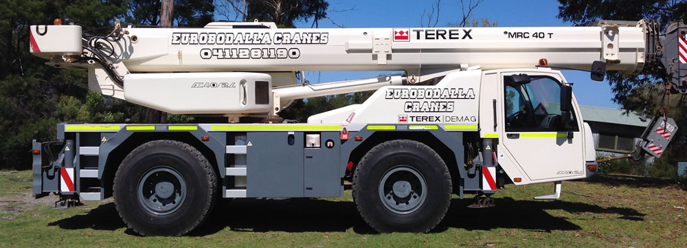 Eurobodalla All Terrain Crane Hire